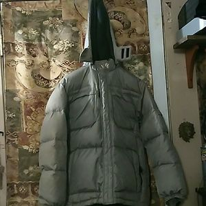 Old Navy gray hoodie thick coat
